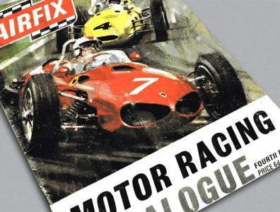 Catalogue Airfix Motor Racing 4ème édition 1968