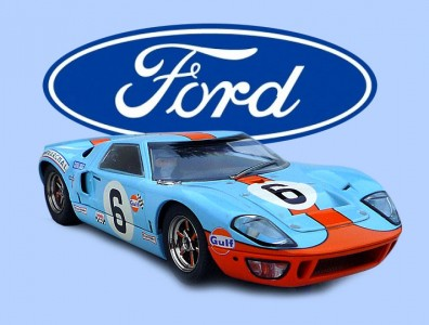 24 heures du Mans 1969 - Ford GT40 #6 - Scalextric