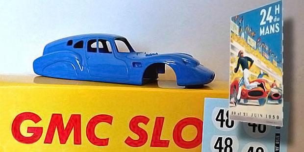 Deutsch et Bonnet HBR5  'Camionnette' Le Mans 1959