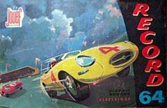 Jouef - coffret Record 64 junior 395, un décor typique des 24 heures du Mans.