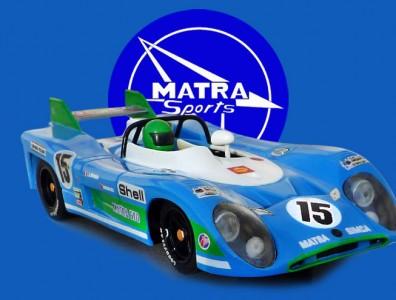 24 heures du Mans 1972 - Matra 670 #15 Scalextric
