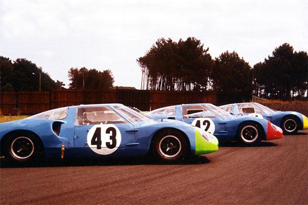 Les trois Matra 620 des 24 heures du Mans 1966