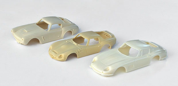 Kits Ocar : Ferrari 250 GT, Alfa-Roméo TZ2, Ferrari 275 GTB