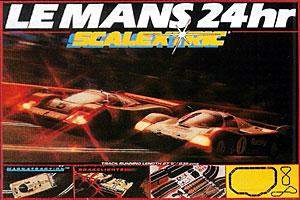 Scalextric Le Mans Porsche et Jaguar 1988-1992
