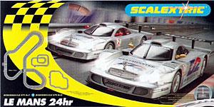 Scalextric Le Mans Mercedes 2000-2001