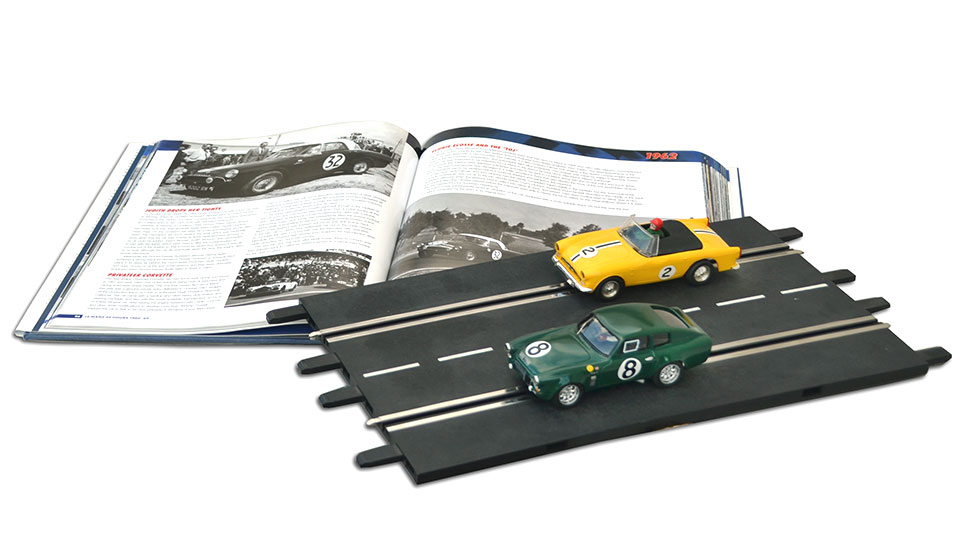 Sunbeam Alpine Scalextric - Alpine Tiger Ocar