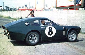 Sunbeam Tiger - 24 heures du Mans 1964