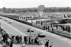 24 heures du Mans 1962 - Ferrari 250 GTO #19 - Pilotes : Pierre Noblet / Jean Guichet - 2ème