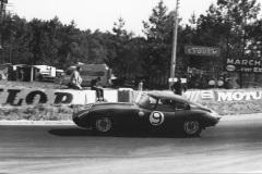 24 heures du Mans 1962 - Jaguar Type E #9 - Peter Lumsden / Peter Sargent - 5ème
