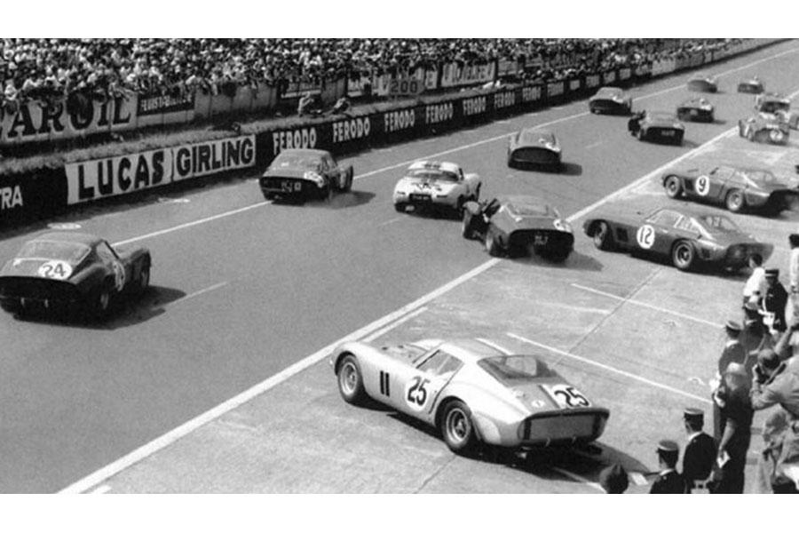Ferrari 250 Gto Pink Kar 24 24 Heures Du Mans 1963