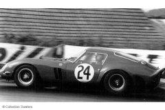 """Le Mans 1963 - Ferrari 250P #24 - Pilotes : Jean Blaton """"Beurlys""""/ Gerhard Langlois van Ophen - 2ème"""