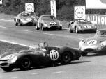 24 heures du Mans 1963 - Ferrari 330TRI/LM #10 - Pilotes : Pedro Rodriguez / Roger Penske- Abandon