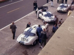 24 heures du Mans 1963 - Jaguar Type E Lightweight #16 - Pilotes : Paul Richards / Roy Salvadori - Abandon