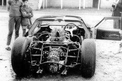 24 heures du Mans 1963 - Lola-MK6 GT #6 - Pilotes Richard Attwood / David Hobbs - Abandong