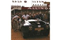 24 heures du Mans 1963 - Lola-MK6 GT #6 - Pilotes Richard Attwood / David Hobbs - Abandon