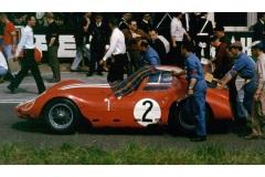 24 heures du Mans 1963 - Maserati 151/2 #2- Pilotes : André Simon / Lucky Casner- Abandon