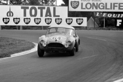 24 heures du Mans 1964 - AC Cobra #64 - Regis Fraissinet / Jean de Mortemart - 18ème