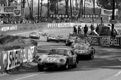 24 heures du Mans 1964 - Cobra Daytona #6 - Pilotes : Chris Amon / Jochen Neerpasch - Disqualification