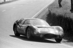24 heures du Mans 1964 - Maserati 151/3 #2- Pilotes : André Simon / Maurice Trintignant- Abandon