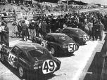 24 heures du Mans 1964 - Triumph Spitfire #65 - Pilotes : Jean-Francois Piot / Jean-Louis Marnat - Abandon