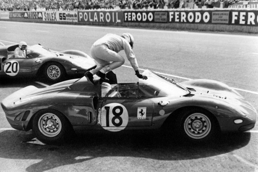 Ferrari 365 P2 Carrera 18 24 Heures Du Mans 1965