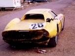 """24 heures du Mans 1965 - Ferrari 250LM#26 - Pilotes : Pierre Dumay / Gustave """"Taf"""" Gosselin - 2ème4"""