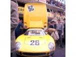 """24 heures du Mans 1965 - Ferrari 250LM#26 - Pilotes : Pierre Dumay / Gustave """"Taf"""" Gosselin - 2ème69-5"""