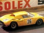 """24 heures du Mans 1965 - Ferrari 250LM#26 - Pilotes : Pierre Dumay / Gustave """"Taf"""" Gosselin - 2ème2"""