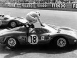 24 heures du Mans 1965 - Ferrari 365 P2 #18 - Pilotes : Pedro Rodriguez / Nino Vaccarella - 7ème