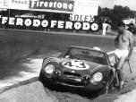 24 heures du Mans 1965 - Alfa-Roméo TZ2 #43 - Pilotes : José Rosinski / Teodoro Zeccoli - Abandon