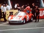24 heures du Mans 1965 - Ferrari 250LM #23 - Pilotes : Lucien Bianchi- Mike Salmon - Abandon