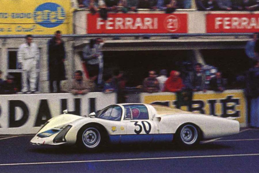 Porsche 906 Langheck Mmk 30 24 Heures Du Mans 1966