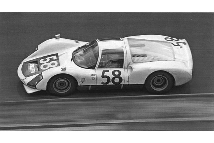 Porsche 906 Fly 58 24 Heures Du Mans 1966