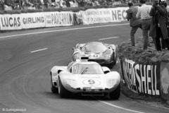 24 heures du Mans 1966 - Chaparral 2D #9 - Phil Hill / Jo Bonnier - Abandon