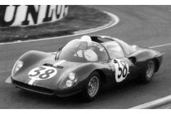 24 heures du Mans 1966 - Dino 206 S #38 - Charlie Kolb / George Follmer - Abandon