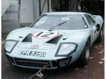 24 heures du Mans 1966 - Ford GT40 #12 - Pilote : Innes Ireland / Jochen Rindt - Abandon