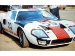 24 heures du Mans 1966 - Ford GT40 #59 - Pilotes : Peter Revson / Skip Scott - Abandon