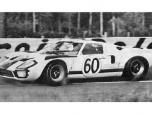 24 heures du Mans 1966 - Ford GT40 #60 - Pilotes : Jacky Ickx / Jochen Neerpasch - Abandon