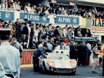 24 heures du Mans 1966 - Ford MkII #1 - Pilotes : Denis Hulme / Ken Miles - 2ème5