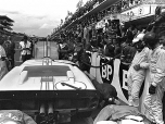 24 heures du Mans 1966 - Ford MkII #1 - Pilotes : Denis Hulme / Ken Miles - 2ème