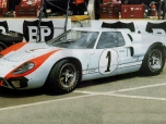 24 heures du Mans 1966 - Ford MkII #1 - Pilotes : Denis Hulme / Ken Miles - 2èmeA