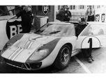 24 heures du Mans 1966 - Ford MkII #1 - Pilotes : Denis Hulme / Ken Miles - 2èmeB