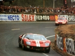 24 heures du Mans 1966 - Ford MkII #3 - Pilotes : Dan Gurney /Jerry Grant - Abandon