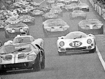 24 heures du Mans 1966 - Ford MkII #6 - Mario Andretti / Lucien Bianchi - Abandon6-C