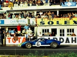 24 heures du Mans 1966 - Ford MkII #6 - Mario Andretti / Lucien Bianchi - Abandon