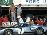 24 heures du Mans 1966 - Ford MkII #7 - Pilotes : Graham Hill / Brian Muir - Abandon