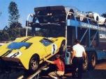 24 heures du Mans 1966 - Ford MkII #8 - Pilotes : John Whitmore / Frank Gardner - Abandon