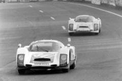 24 heures du Mans 1966 - Porsche 906 #34 - Robert Buchet / Gerhard Koch - Abandon