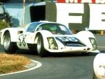24 heures du Mans 1966 - Porsche 906 #58 - Gunther Klass / Rolf Stommelen - 7ème
