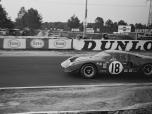 24 heures du Mans 1967 - Ford GT40 #18 - Pilotes : Umberto Maglioli / Mario Casoni - Abandon